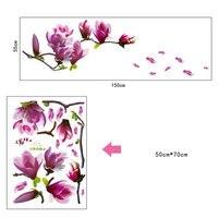 1PC-Flower-Wall-Sticker-3D-Vinyl-1