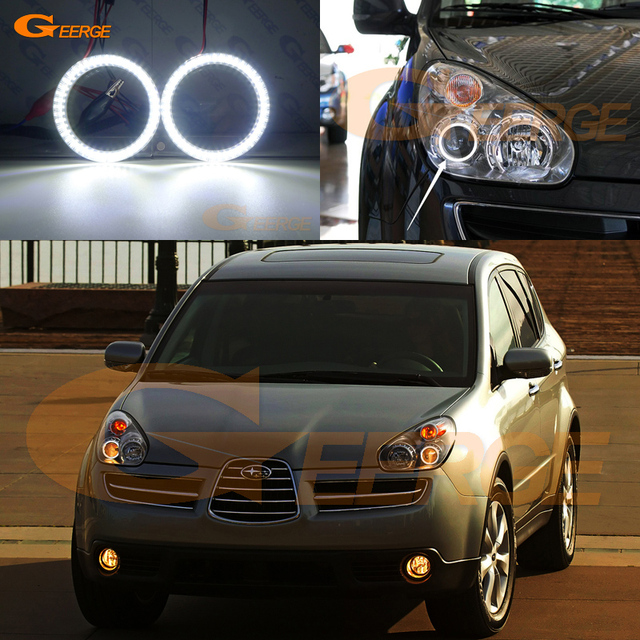 For Subaru Tribeca B9 2006 2007 Excellent Smd Led Angel Eyes Kit Day Light Ultra Bright Illumination Drl