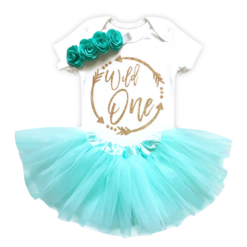 Lush Fluffy 1 Year Baby Clothing Sets with Flower Headband Roupa Infantil Bebes 1st Birthday Outfit Toddler Girl Party Dress 1 year tutu baby girl clothing sets infant romper tulle skirt headband kids party costume bebes one birthday outfits vestidos