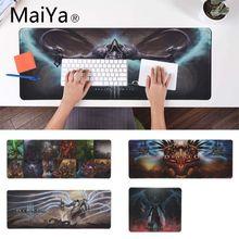 Maiya diablo игровой замок край контроль скорости коврик для клавиатуры ноутбука игровой коврик для мыши xxl настольный ноутбук коврик для мыши геймер Настольный коврик
