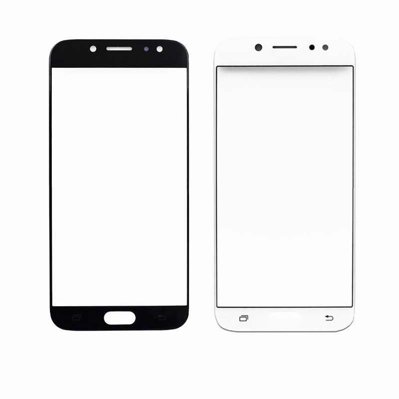 لمس الشاشة لسامسونج غالاكسي J7 برو J730 J730F J730G 5.5 ''شاشة الكريستال السائل الزجاج الخارجي الهاتف أجزاء