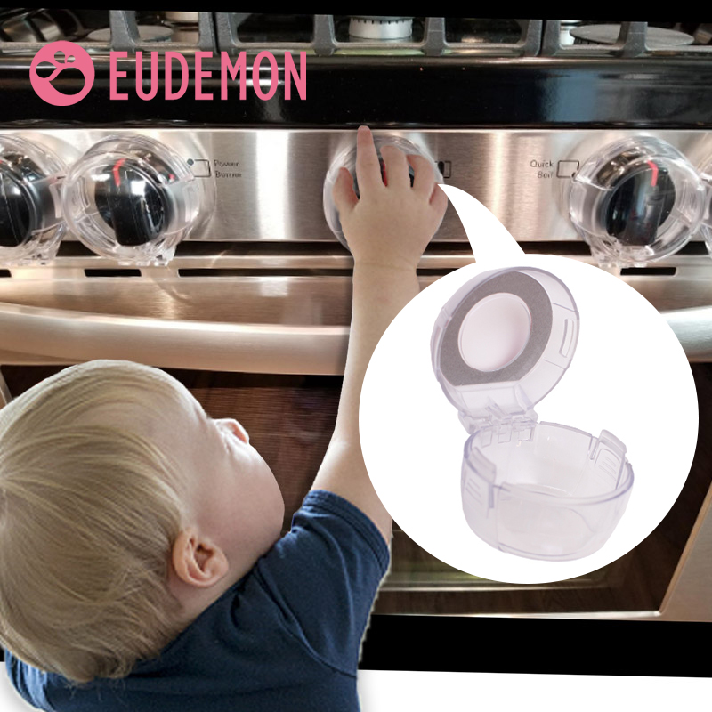 EUDEMON Larger Baby Stove Safety Covers Child Switch Cover Gas Stove Knob Protective Cover Baby Safety Lock Natural Gas Switch
