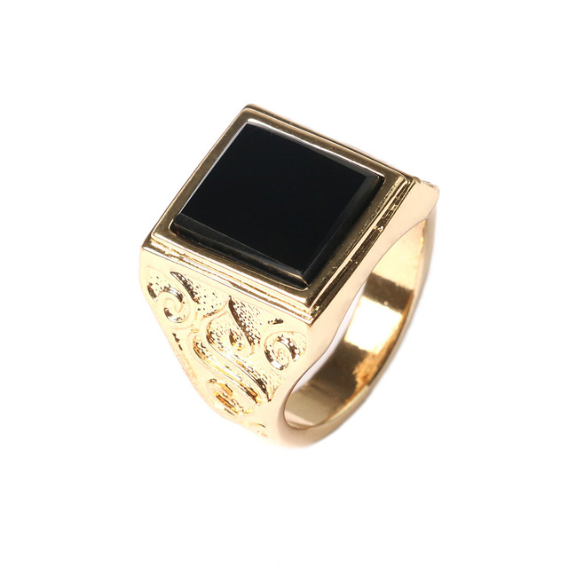 Fine Jewelry 18K Rose Gold-Plated Square Ring MwIGP