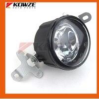 2PCS Front Left & Right Fog Light Fog Lamp For Mitsubishi PAJERO MONTERO IV 4th 8321A144