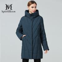 SpiritMoon 2018 Women Thickening Bio Down Jackets Brand Fashion Woman Winter Coats And Parka Hooded New Coats Plus Size 8XL 10XL
