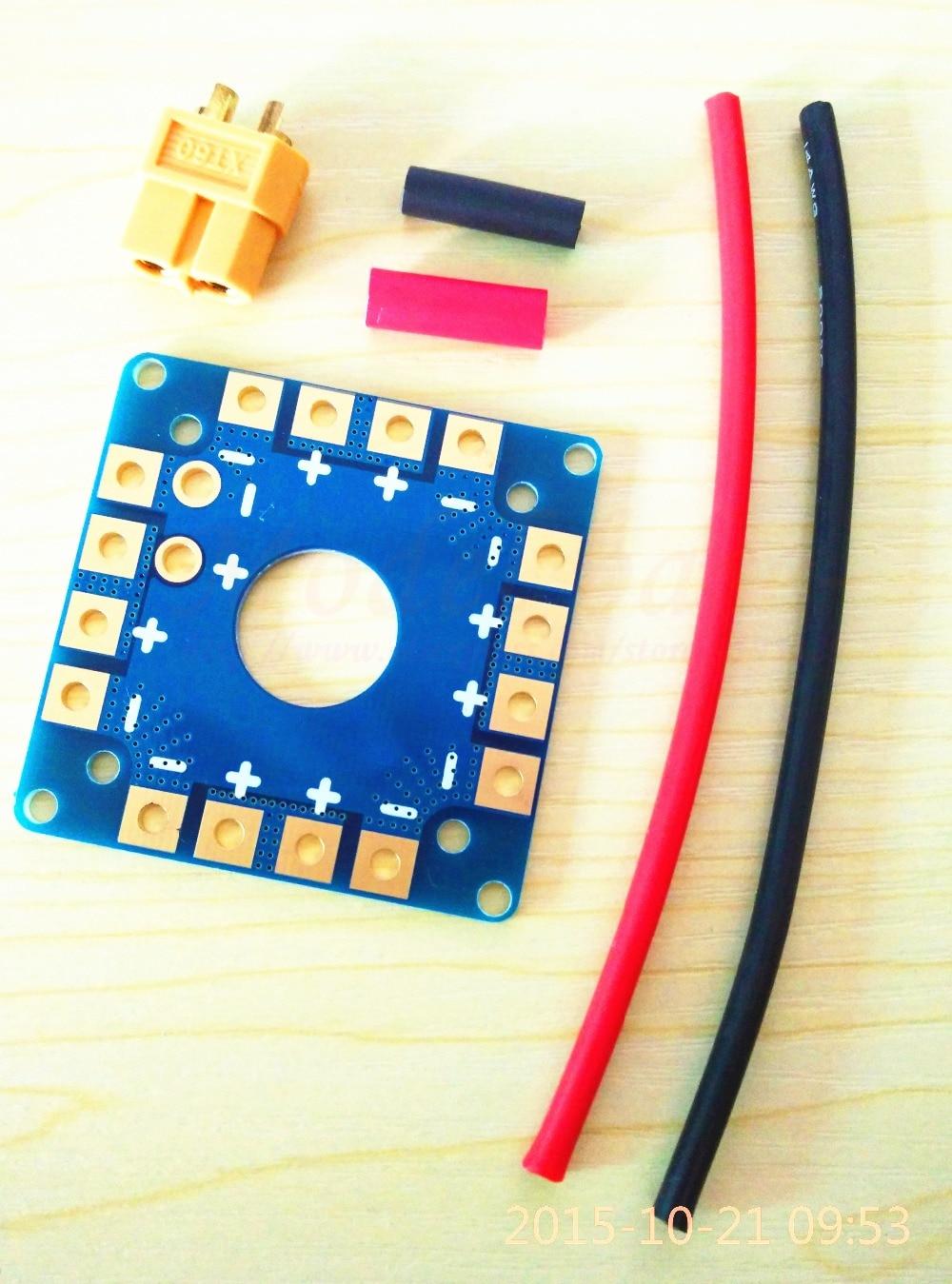 MultiCopter Multi-Tri Copter Power Distribution Board ESC Connection Board