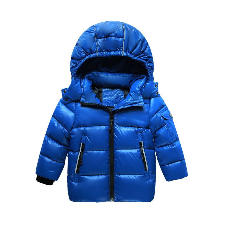 candy color hooded jackets boys warm tops kid clothes new 2017 light down coats for girls children outerwear & coats clothing