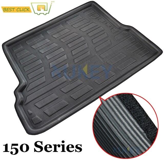 2018 toyota land cruiser trunk. rear trunk liner cargo boot mat floor tray for toyota landcruiser prado 150 j150 2010 2011 2018 land cruiser
