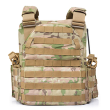 1000D Nylon Plate Carrier Tactical Vest Outdoor Hunting Protective Adjustable for Men Airsoft Combat Accessories
