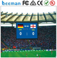 Футбол стадион из светодиодов табло \ бывшее в использовании баскетбол табло для на открытом воздухе полноцветный p25 футбол стадион светодиодный дисплей Leeman