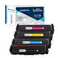 Lcl 410a 410x cf410a cf410x cf4101x cf412x cf413x (4-pack) cartuchos de toner compatível para hp color laserjet pro m477fdw/m477fdw