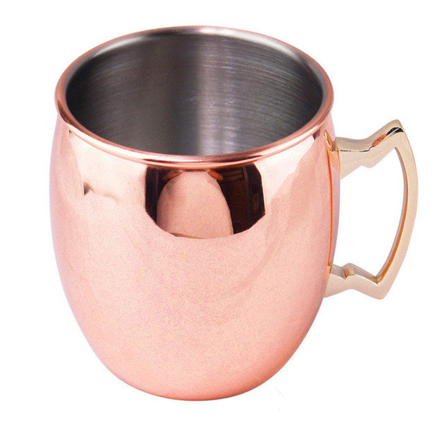 Ounces Hammered Copper Plated Moscow Mule Mug Beer Cup Coffee Cup Mug Copper Plated Black Rose.jpg 640x640 - tabletop-and-bar, new-arrivals, drinkware - Moscow Beer Mug