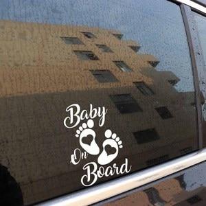 Image 4 - SLIVERYSEA Sticker Vinyl Hobby Car Decal Baby on Board Black/Silver