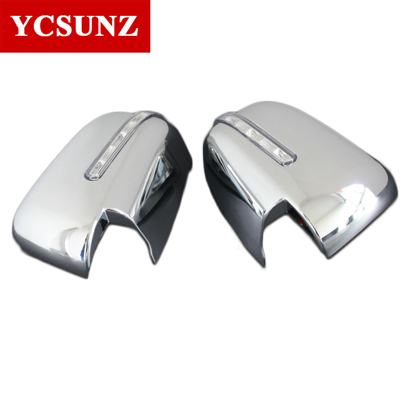 2016-2017 Chrome Mirror Cover For Mitsubishi L200 Triton Mirror Cover With LED Lights Parts For Mitsubishi Accessories Ycsunz экран для ванны triton эмма 170