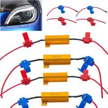 4x LED Indicador 50 w 6 ohm Taxa de Flash Relé Turn Signal Resistor de Carga Lâmpadas de Lastro