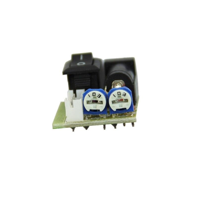 OOTDTY Mini 12V CCFL Inverter Tester Laptop Screen Repair Backlight Lamp Test LCD TV