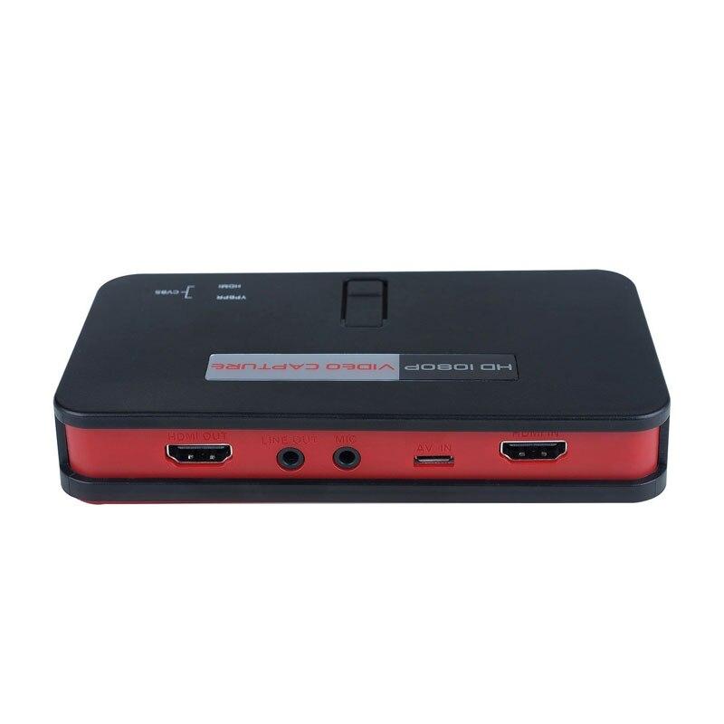 HD Scheda Video Game Capture Box HDMI 1080 P Registratore Dispositivo per XBox One 360 PlayStation PS4 PS3 PS2 Wii U Gioco PC XXM