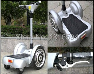 Electric Car Stand Foot Scooter Four Wheel Bicycle 4 For Aldut