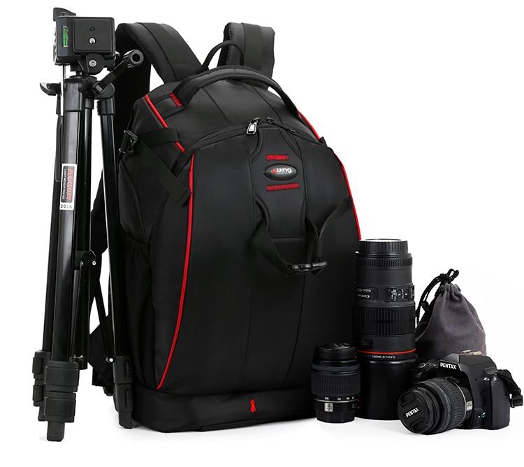 Flipside 400 Large Capacity Professional DSLR Camera Backpack 14 Laptop Waterproof Video Photo Bag Raincover For