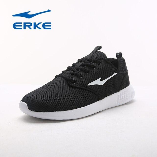 Ерке фирменные горячие атлетика кросс-тренинга обувь спортивные кроссовки для мужчин дышащие легкие кроссовки обувь на шнуровке Обувь 2017