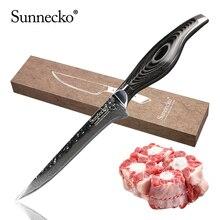 SUNNECKO 6 Boning Knife 73 Layers Damascus Steel Japanese VG10 Sharp Blade kitchen knives Pakka Wood Handle Meat Cutter Tool