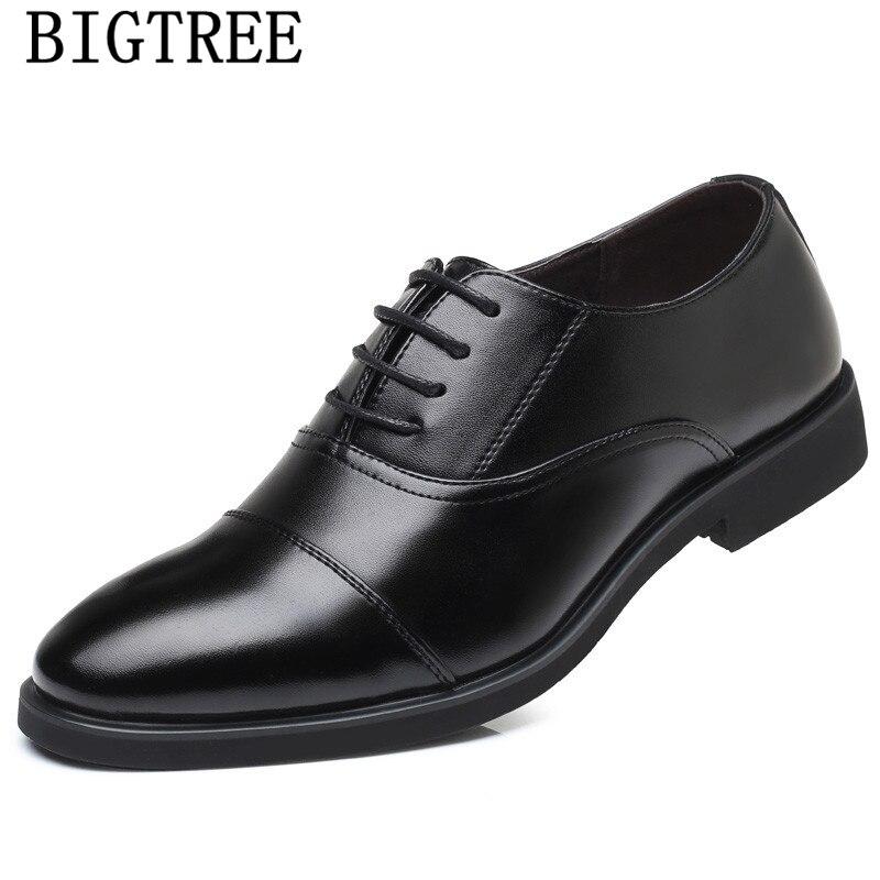 Sapatos formal dos homens de negócios clássico sapatos sapatos de escritório dos homens de vestido de couro preto dos homens elegantes de vestir hombre zapatos scarpe uomo
