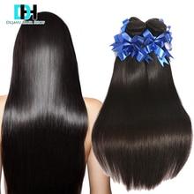 Stema Hair Peruvian Virgin Hair Straight 4 Bundles Puruvian Hair Bundles Short Weave Hair Short Bob Fashion Hairstyle