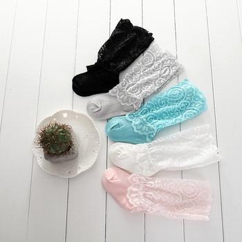 lawadka NewBorn Baby Girl Socks Tiny Cotton Infant Lace Socks for Little Girls Summer Cheap Stuff Sock Baby Accessories 1