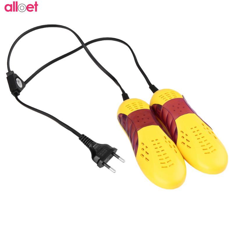 Boot Odor Deodorant Device Shoes Drier Heater 220V 10W Race Car Shape Voilet Light Shoe Dryer Foot Protector Shoes Drier EU Plug