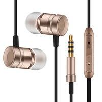 2016 Yeni Metal Kulaklık Süper Kulaklık Bas Ses Kontrolü Mic Kulaklık Ile Sony Xperia Z1 Kompakt Için