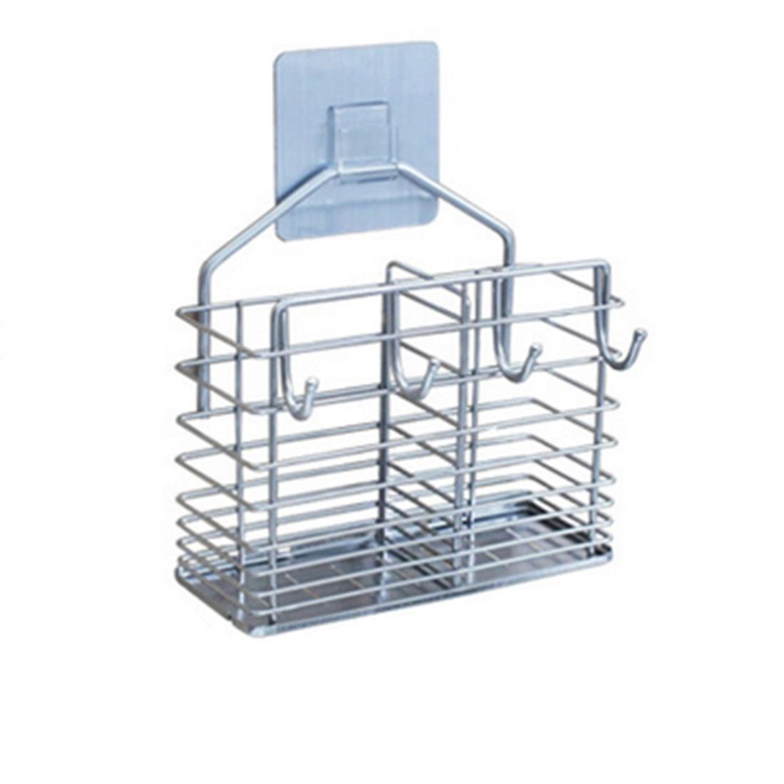 Stainless Steel Chopsticks Holder Draining Rack Tableware Storage Rack Kitchen Utensils Organization