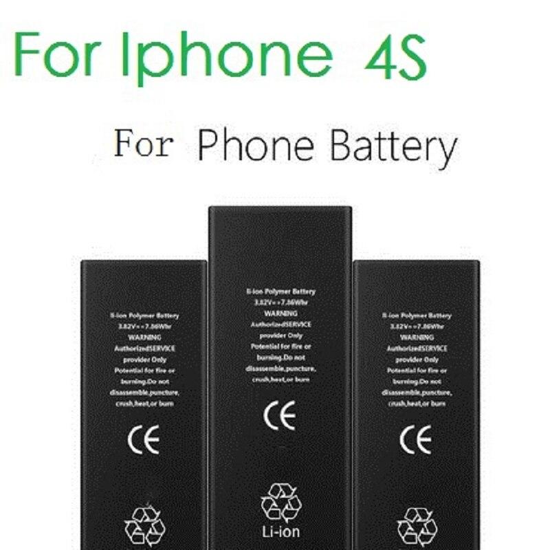100% מקורי מותג ANTIRR טלפון סוללה עבור iphone 4S אמיתי קיבולת 1430 mah עם מכונת כלים ערכת נייד סוללות