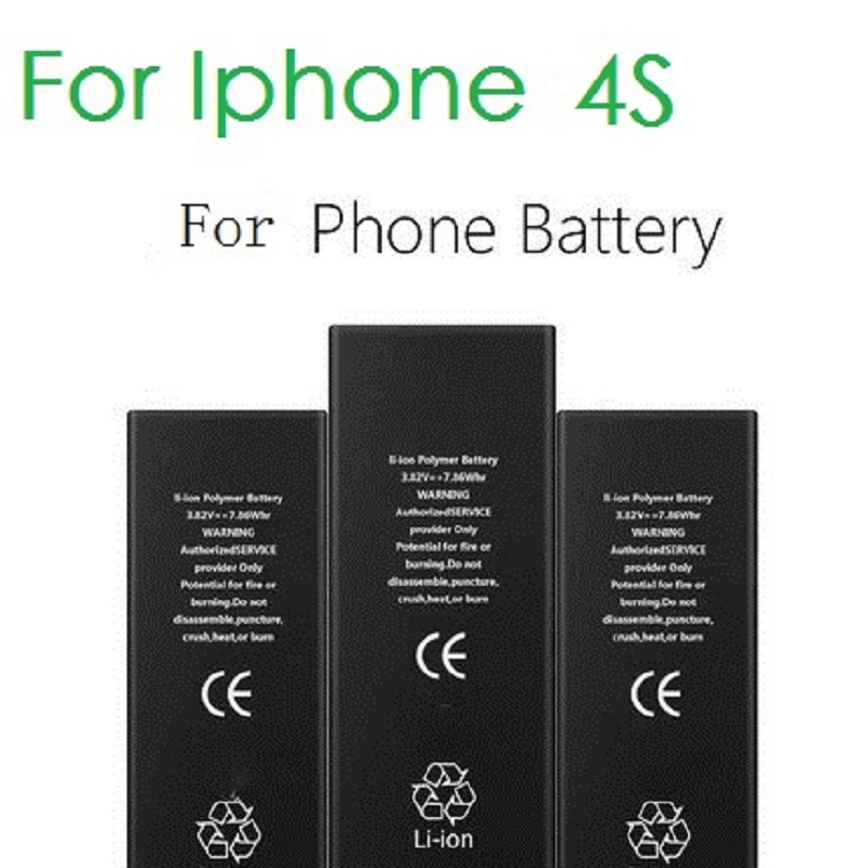 d68d1bd5adf 100% Original Marca ANTIRR 4S Real Capacidade 1430 mah Da Bateria Do  Telefone Para O iphone Com Kit de Ferramentas de Máquina de Baterias Móveis