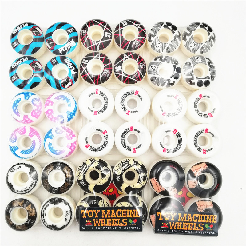 New Original USA BRAND Skateboard Wheels 51-54mm For Pro Skateboard Deck And Skaters With Good Quality Skate Wheels