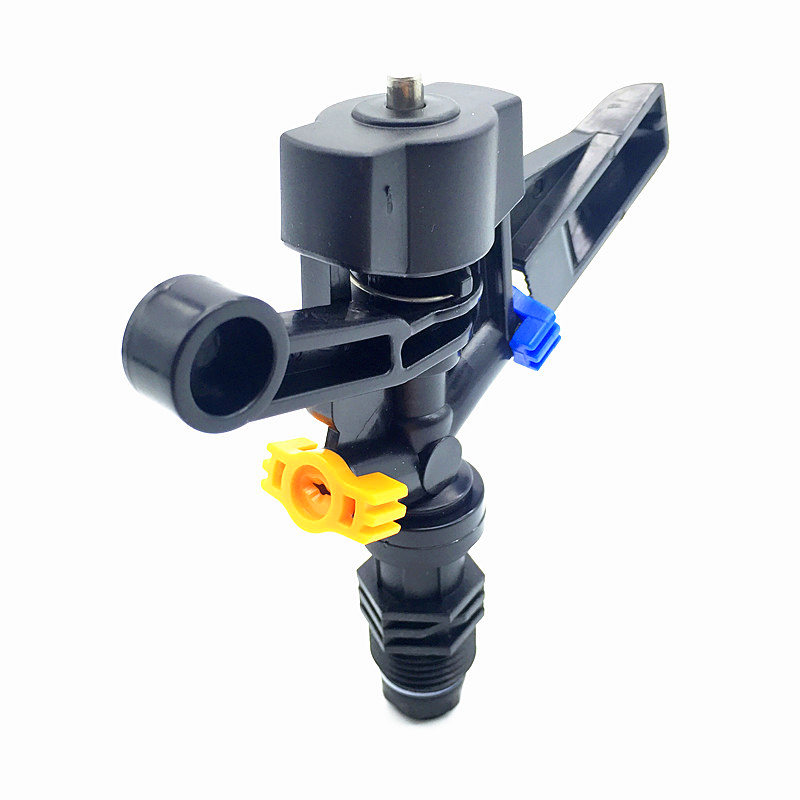 10 Pcs Auto Rotate Arm Nozzle 20mm Male Thread Two Holes Not Adjustable  Agriculture Irrigation Garden Lawn Sprinkler Water Mist