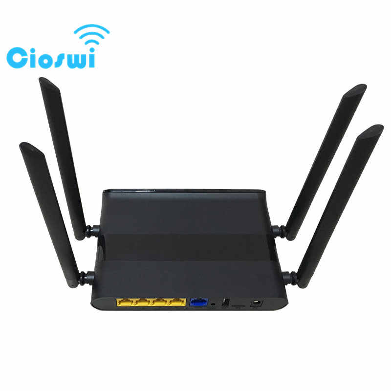 OpenWrt 1200Mbps Wireless Router 802 11AC Dual Band Wireless