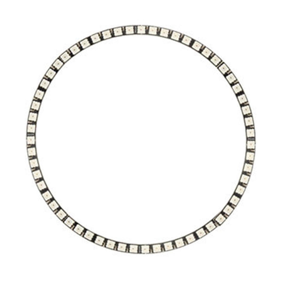 Кольцо светодиодные лампы Настенные часы 60led WS2812 5050 SMD RGB светодиодные лампы Панель для Arduino 5 В 1A