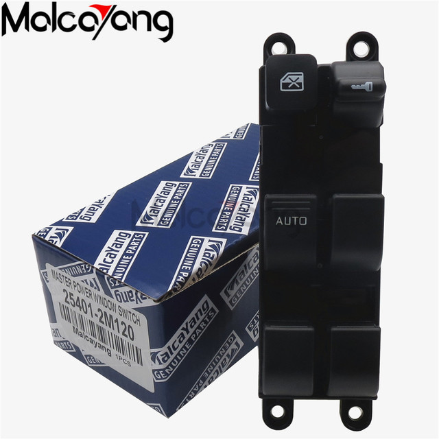 US $14 04 18% OFF|25401 2M120 Electric Power Window Master Switch  254012M120 For Nissan Sunny Navara Pick up Bluebird B14 D22 D22F D21 P11-in  Car