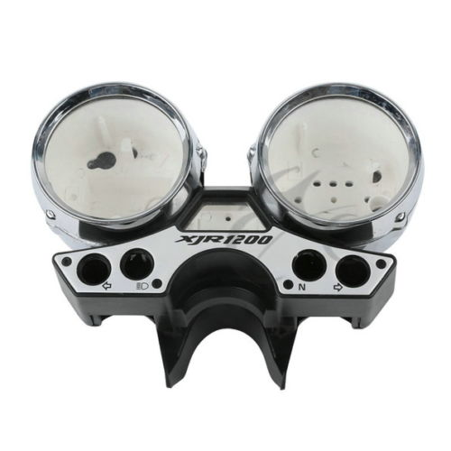 Motorcycle Speedometer Tachometer Clock Gauge Cover For Yamaha XJR1200 XJR 1200 94-98 95 96Motorcycle Speedometer Tachometer Clock Gauge Cover For Yamaha XJR1200 XJR 1200 94-98 95 96