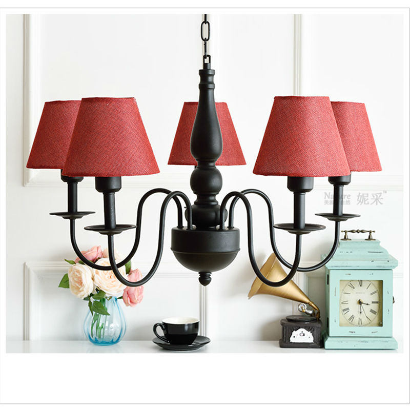 Us 116 79 49 Off Princess Lamp Children Bed Room Lighting European Style E27 Holder 220v For Living Chandeliers Free Shipping In
