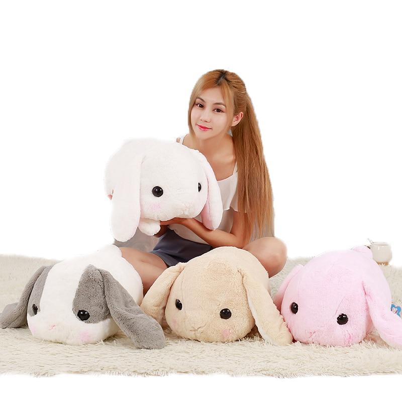 Cute Rabbit Dolls Plush Toy Classical Lying Rabbit Toy Amuse Rabbit Kawaii Plush Pillow For Kids Friend Girls