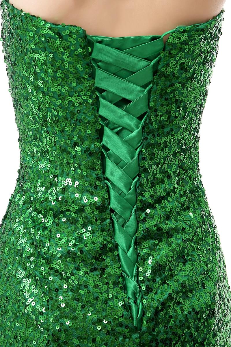 Forevergracedress Real Photos Grön Aftonklänning Ny Ankomst - Särskilda tillfällen klänningar - Foto 5