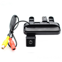 Hot For CCD Mercedes Benz E Class 2010 2011 2012 2013 2014 2015 Car Trunk Handle Rear View Camera Backup Parking Assistance