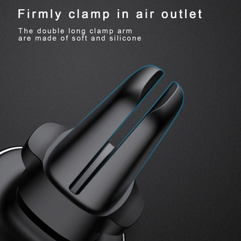 Baseus Metal Car Phone Holder For iPhone 11 Pro Sumsung S9 Xiaomi Magnetic Phone Holder Air Vent Mount Mobile Phone Holder Stand 6