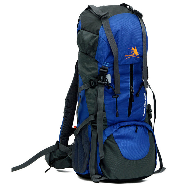 8f2565993c Free Knight Waterproof Camping Hiking Backpack 65L+5L Nylon Outdoor Sport  Bag Tourist Backpack Men