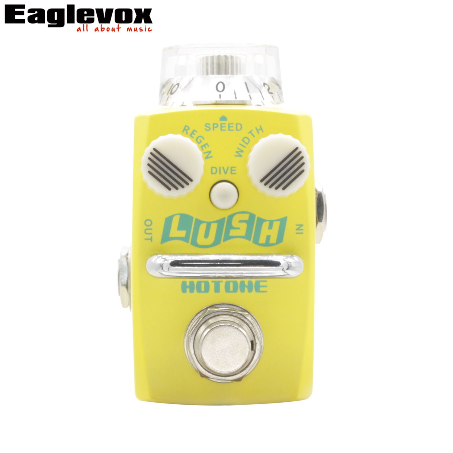 Hotone Lush Flanger Pedal For Guitar True Bypass lush flanger hotone extended onboard controls skyline дрипка wotofo lush rda