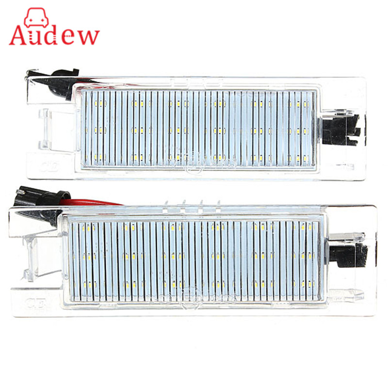 Brand New 18 LED License Plate Light Number Plate Lamp For Vauxhall/Opel/Corsa C D for Astra H for Insignia