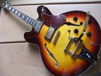 Wholesale New 1959 Custom Shop Jazz ES 355 Electric Guitar With Bigsby In Sunburst 100901