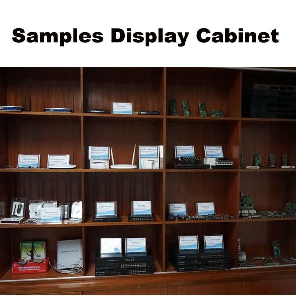 Samples Display Cabinet