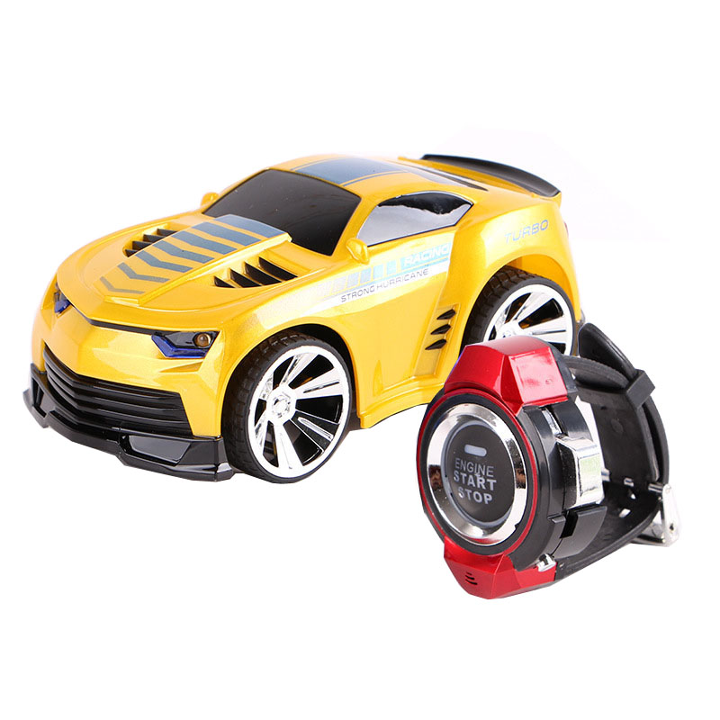 6CH Smart Watch RC Car Voice Control Vehicles Racing Car Toy Watch Comes With Voice Features
